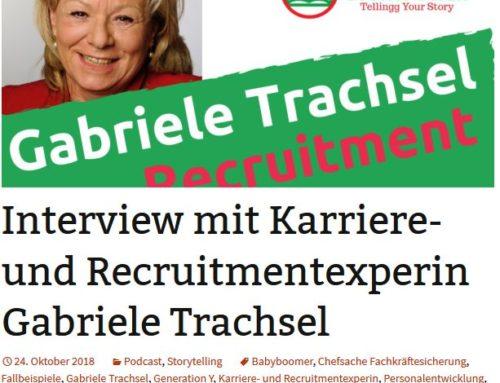 News – Interview mit Karriere- und Recruitmentexpertin Gabriele Trachsel